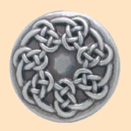 Pictish Knot Concho, Celtic Knot Design Conchos