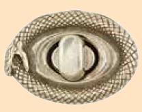 infinity snake ouroboros clasp