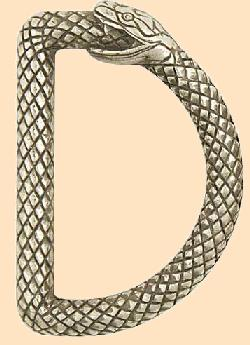 infinity snake ouroboros d-ring