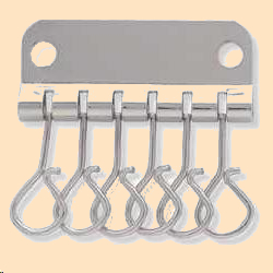 six hook key plate