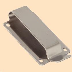 rivet on spring clip