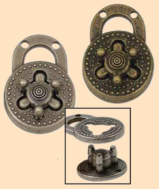 turn lock comnination look clasps