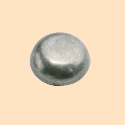 antique nickel plated round spots