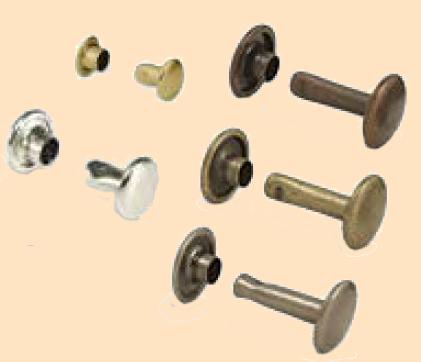 double cap rivets