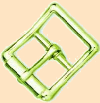 Center Bar buckle - strap buckle