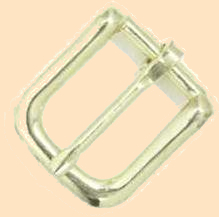 #12 Bridle Buckle, bridle buckles, brass plated bridle buckles