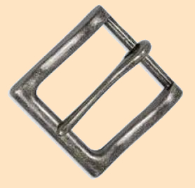 bandera buckle, casual buckle, belt buckle