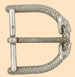 """3 4/"""" Nickel Plate Leathercraft Tandy Leather Ribbon Spring Swivel Snap Np"""