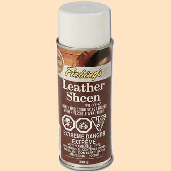 fiebings leather sheen finish spray