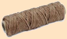 braided sinew 3 strand braided flat artificial sinew