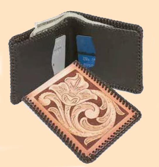Top Notch Billfold Kit, leathercraft kit, leather billfold kit