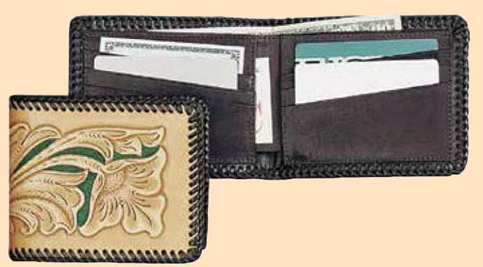 Premier Leather Wallet Kit, leathercraft kit, leather wallet kit