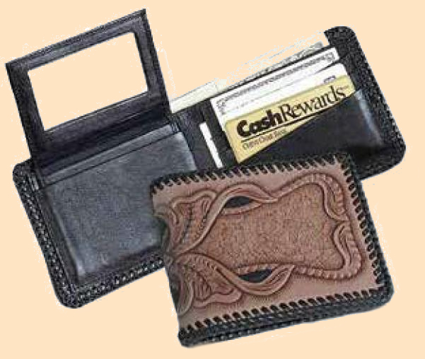 Premier Wallet Kit, leathercraft kit, leather wallet kit