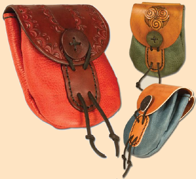 winsor belt bag kit, leather belt bag kit, belt bag