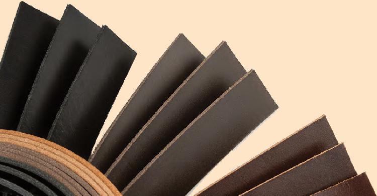 sundance polished leather strips