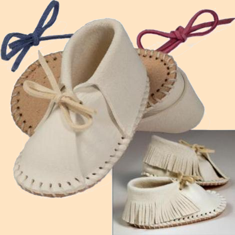 easy fit baby shoe kit - baby moccasin kit