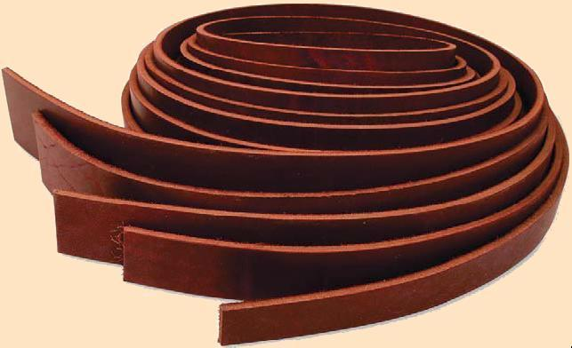 latigo leather strips