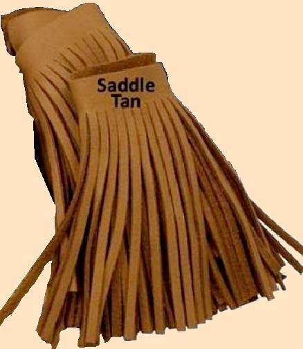 deertan fringe, deer tan leather fringe, Cowhide fringe
