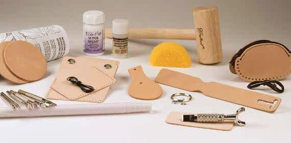 basic carving leather set