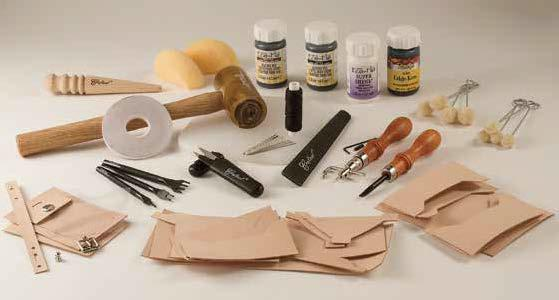 deluxe leathercrafting set