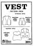 vest leathercraft pattern pack