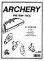 archery leathercraft pattern pack