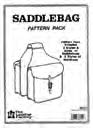 saddlebag leathercraft pattern pack