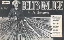 belts galore book - leather craft supplies