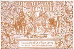 how to carve leather book - leathercraft supplies