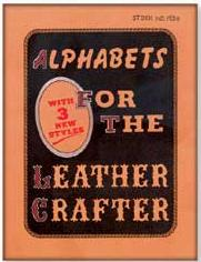 alphabets for the leather crafter book