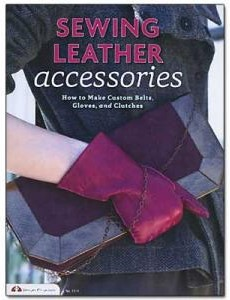 sewing leather accessories book