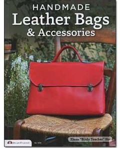 handmade leather bags and accessories book