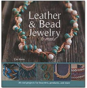 leather and bead jewelry to make book