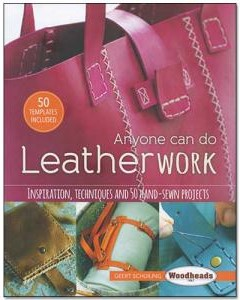anyone can do leatherwok instructional book