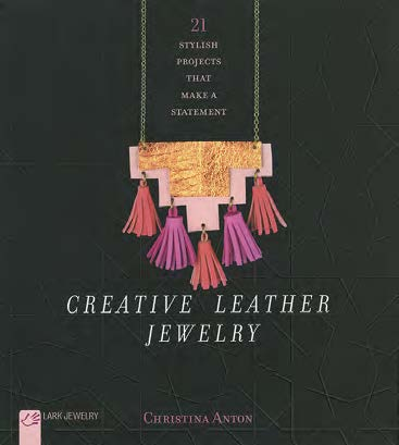 creative leather jewelry project book