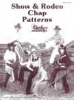 show and rodeo chaps leathercraft pattern pack