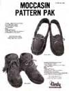 moccasin leathercraft pattern pack