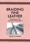 braiding fine leather book leather braiding