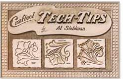 craftool tech tips leathercraft technique book