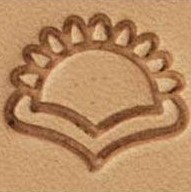 E677 66677 leather stamp, leathercraft stamping tool