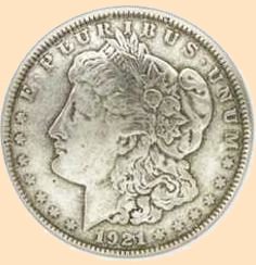 morgan dollar concho head, conchos, leathercraft conchos