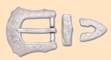 Engraved Buckle Set 3/4