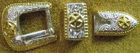 3/8 San Saba Buckle Set