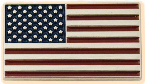american flag concho