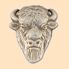 buffalo face concho
