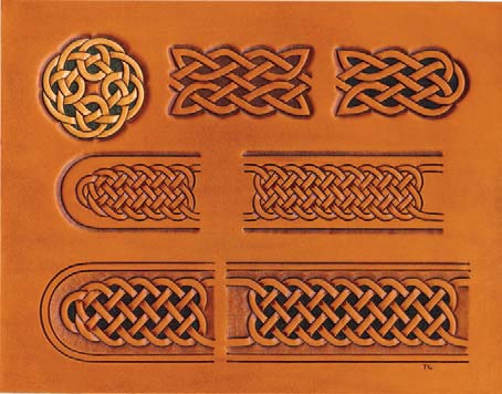 Craftaid, Template, Leather Pattern, Leathercraft Pattern, Leathercraft Supplies, Celtic Belts, Buckle