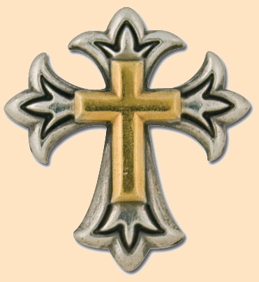 endearing cross concho