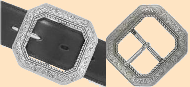 cody                          clipped corner belt buckle