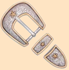 elite ranger star buckle set