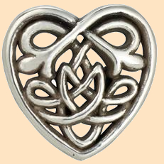 Celtic Heart Concho, Celtic Knot